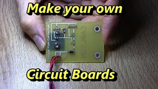 getlinkyoutube.com-How to Make Double Sided Circuit Boards at Home