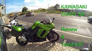 getlinkyoutube.com-Kawasaki Z1000SX testdrive & Review