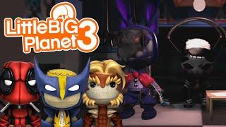 getlinkyoutube.com-READY FOR FREDDY?! | Little Big Planet 3 Multiplayer (26) Five Nights At Freddy's 2