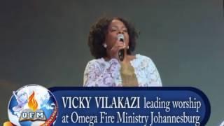 Vicky Vilakazi LIVE in Worship at Omega Fire Ministry SA