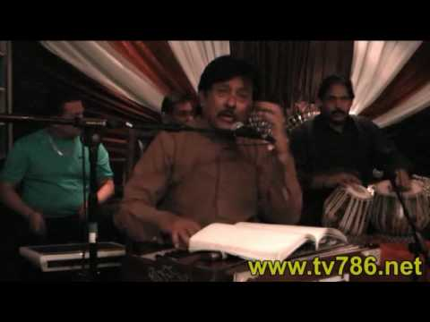 Part2 Attaullah Khan Esakhelvi  at Gulrang Restaurant 310-C Earls Court Road