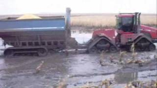 getlinkyoutube.com-Hutterville Colony Harvest 2009 Muddy Mess