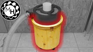 getlinkyoutube.com-Making the Segmented Wooden Bucket ( Chip-Separator Part 1)