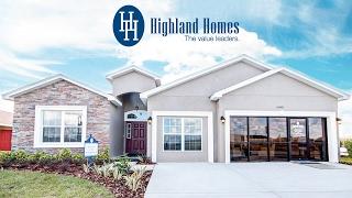 getlinkyoutube.com-Williamson II home plan by Highland Homes - Florida New Homes for Sale