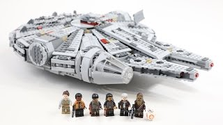 getlinkyoutube.com-LEGO Star Wars Millennium Falcon 2015 Edition (Timelapse & Review) - Set 75105
