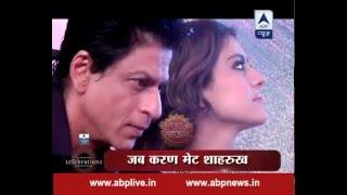 getlinkyoutube.com-When Karan Patel met his idol Shah Rukh Khan