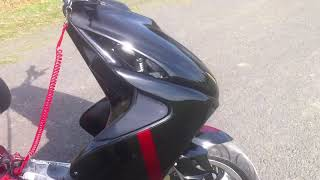 getlinkyoutube.com-Big Evo 94ccm Custom Aerox (bloody Storm