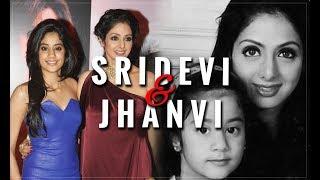 Sridevi And Jhanvi | Sridevi Death News, Funeral, Unseen Footage |