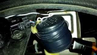 getlinkyoutube.com-Part 3 - How to fix / repair backup / reverse speaker buzzer on a 2008 Nissan Armada