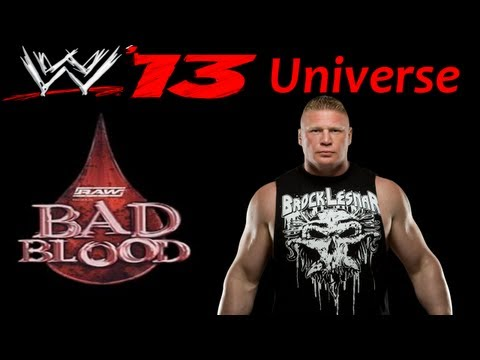 WWE 13 Universe | WWE-ECW-TNA | Week 28 | Bad Blood PPV