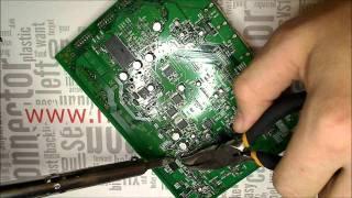 Fixing a Onkyo TX-SR606 (Timelapse)