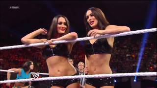 getlinkyoutube.com-WWE Raw 2013/05/06: Six-Diva Tag Team Match.