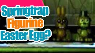 getlinkyoutube.com-Springtrap Figurine Easter Egg found? Five Nights at freddy's 3 theory