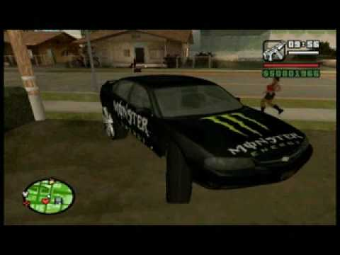 GTA SA Donk (Monster and Barbie)