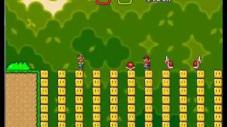 getlinkyoutube.com-Super Mario Bros X Invasion Part 8 (2 Player)