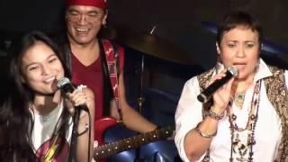 Laguna (Sampaguita) with a singer Julia and Friction Band