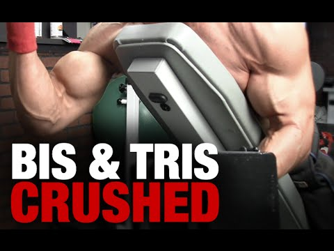 Worlds Fastest Arm Workout - Biceps and Triceps (8 MINUTES!!)