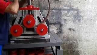 getlinkyoutube.com-Calandra para tubos e metalon em taubate