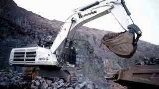 getlinkyoutube.com-Liebherr - Mining Excavators R 9100 / R 9150
