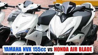getlinkyoutube.com-Yamaha NVX 155cc đè Honda Air Blade 2016 ▶ Xe Tay Ga phải chất!