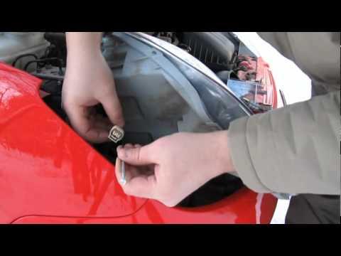 Смена переднего поворотника на Chevrolet Spark
