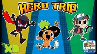 getlinkyoutube.com-Disney XD Hero Trip - Team Lightning Squad Takes Over (iPad Gameplay)
