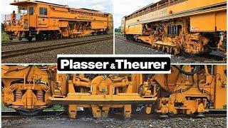 getlinkyoutube.com-PLASSER 09-16 CSM & DUOMATIC 09-32 CSM by Plasser & Theurer in action