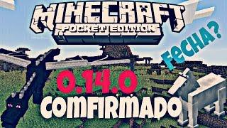 getlinkyoutube.com-Minecraft Pe 0.14.0 | Todo Lo Confirmado 100% + Fecha De Salida | Texturas,END,| Apk Descarga