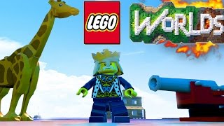 getlinkyoutube.com-LEGO Worlds - SECRET CHARACTERS! Animals, Vehicles & More! LEGO Worlds Gameplay #12 (LEGO Worlds)