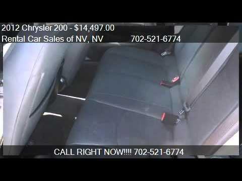 2012 Chrysler 200 LX - for sale in Las Vegas, NV 89103