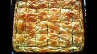 getlinkyoutube.com-Αγάπα Με Αν Dolmas: Πως ανοίγουμε φύλλο για Πίτα / Greek Pie