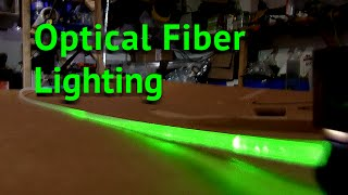 getlinkyoutube.com-DIY Optical Fiber Light Tubes UV CURE RESIN for fiber optic Lightsaber
