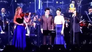 getlinkyoutube.com-Andrea Bocelli e Daniel - Con Te Partiro - Santuario de Aparecida - Brasil - 15/10/2016