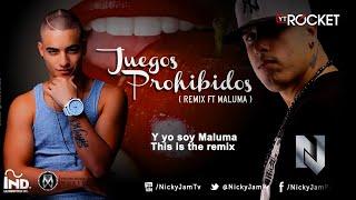 getlinkyoutube.com-Nicky Jam - Juegos Prohibidos ( remix ft Maluma ) Oficial Con Letra @NickyJamPr @MalumaColombia