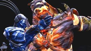 Mortal Kombat 9 - All Fatalities on DARK KAHN (1080p 60FPS)