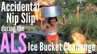 getlinkyoutube.com-Accidental Nip Slip during ALS Ice Bucket Challenge