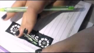 getlinkyoutube.com-كيف تزين دفترك من الداخل (سلسلة العودة للدراسة )..