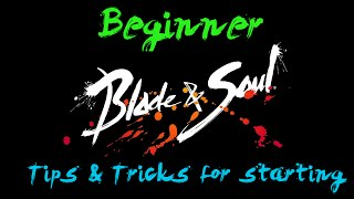 getlinkyoutube.com-Blade & Soul: Beginner Tips & Tricks + BEST START