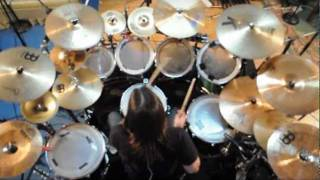 getlinkyoutube.com-Charly Carretón - Avenged Sevenfold - Nightmare (Drum cover)