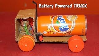 getlinkyoutube.com-How to make a Battery Powered Truck - Easy