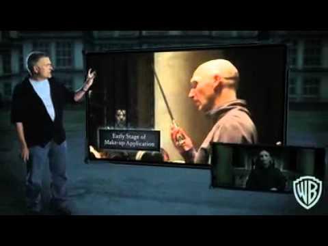 Voldemort - Maquiagem e Efeitos