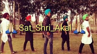 Bhangra   sat_sri_Akal    G sidhu   Punjabi song   VEAM_p Bhangra crew@ 2018