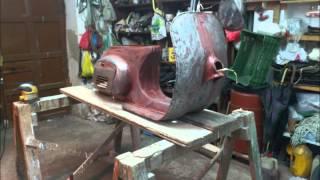 getlinkyoutube.com-Αναπαλαίωση Vespa 50s 1967, Restoration