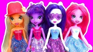 getlinkyoutube.com-My Little Pony Equestria Girls Dolls Perfect For Pony And Brony Fans Toy Review