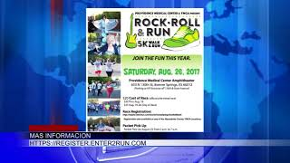 Este fin de semana se celebrará la Caminata Rock, Roll & Run