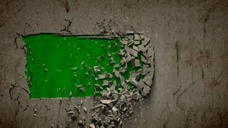getlinkyoutube.com-wall collapse B green screen - three different intro effects with sound