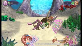 getlinkyoutube.com-Winx Club - The Mystery of the Abyss APP - Fairies Review!
