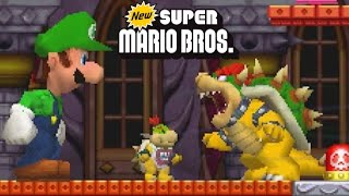 getlinkyoutube.com-New Super Mario Bros. DS - All 8 Worlds - Full Game (All Star Coins)