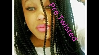 getlinkyoutube.com-Crochet Braids | Pre Twisted Senegalese