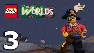 getlinkyoutube.com-The Jnx spelar Lego Worlds   #3   Vi gör snygga vägar